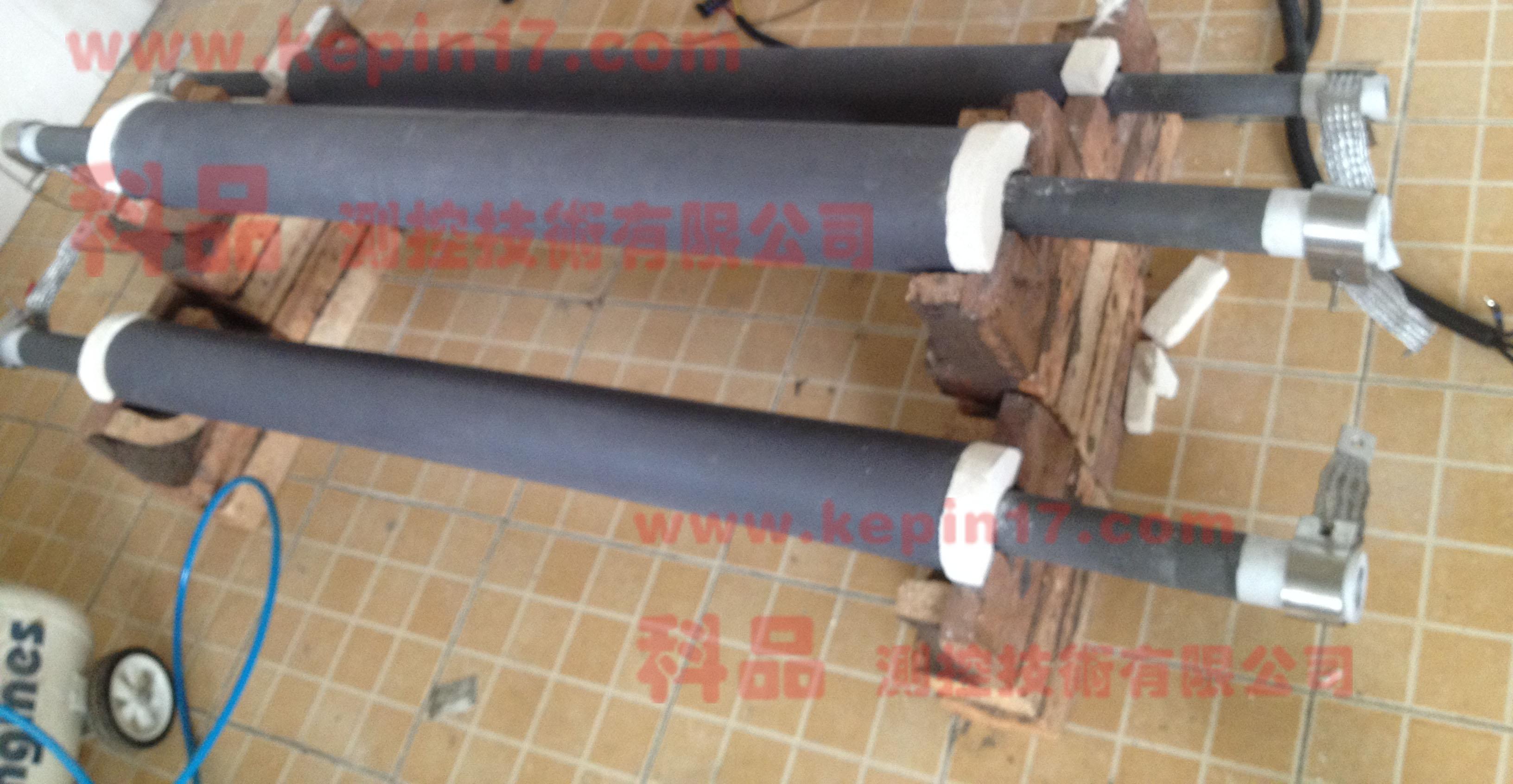 绝热材料最高使用温度测试仪加热部分(未置入试验箱前)